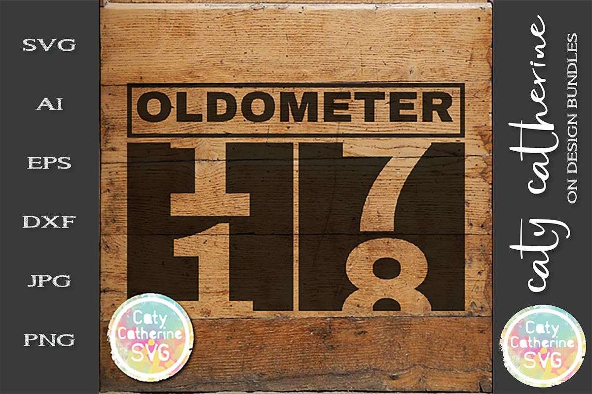 18 Eighteen Birthday Oldometer SVG Cut File example image 1
