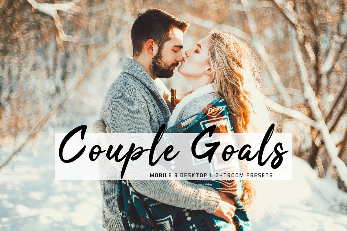 Couple Goals Mobile &amp Desktop Lightroom Presets Pack example image 1
