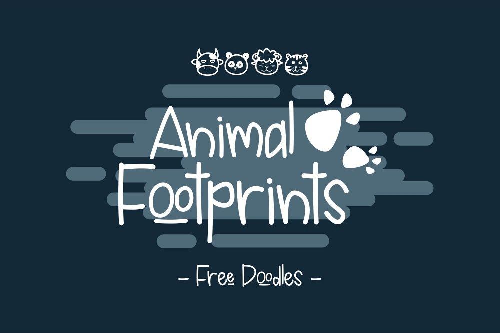 Animal Footprints example image 1
