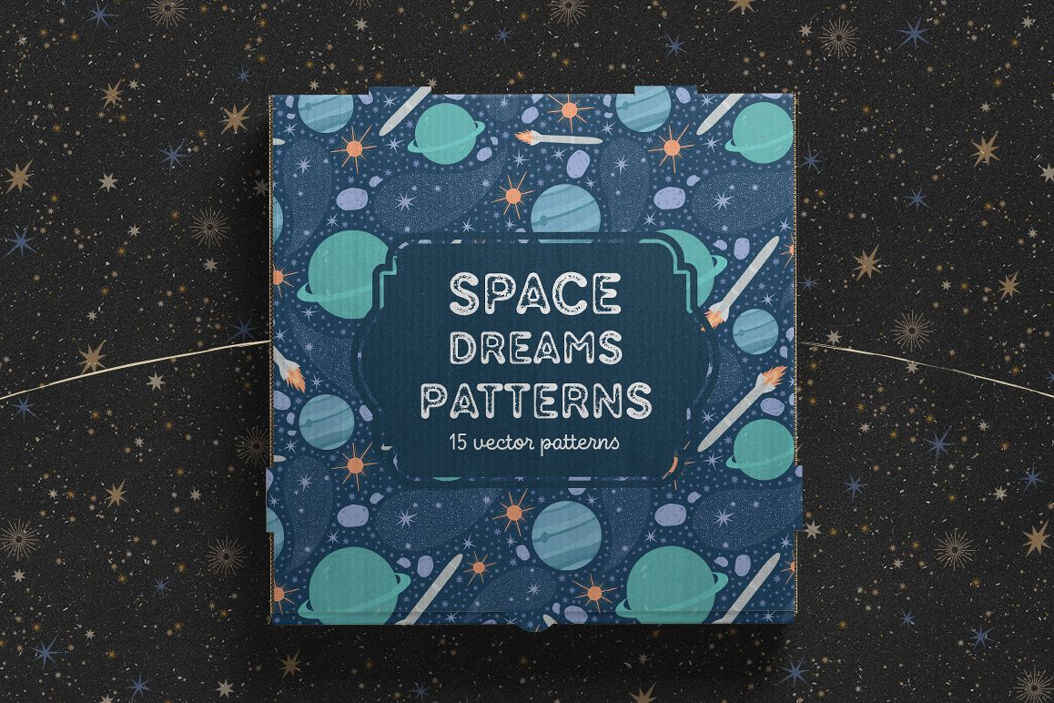 Space Dreams patterns collection example image 1