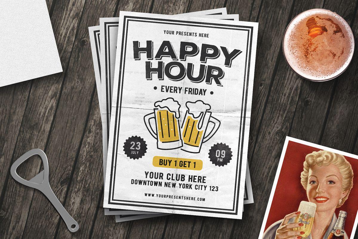Vintage Happy Hour example image 1