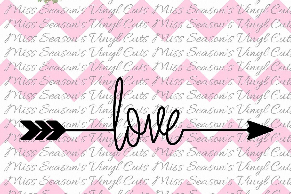 Love Arrow SVG Arrow SVG  example image 1