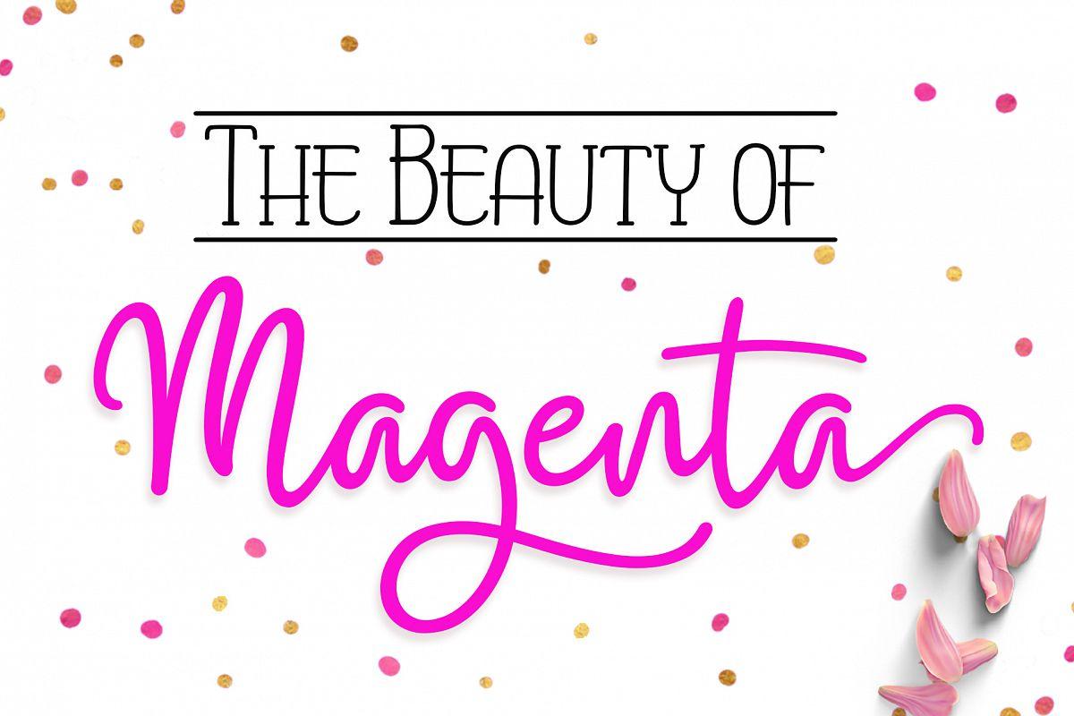 Magenta example image 1