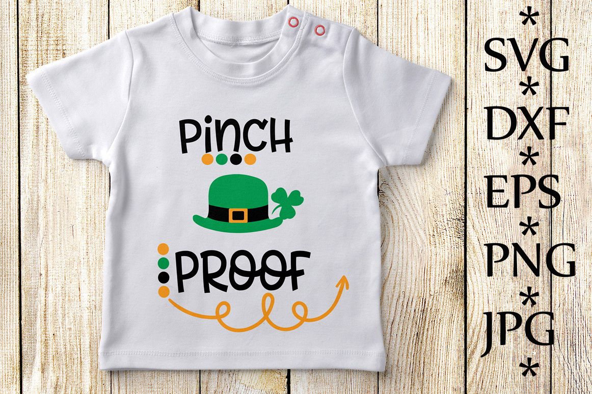 Pinch Proof SVG,St Patricks Day Svg example image 1