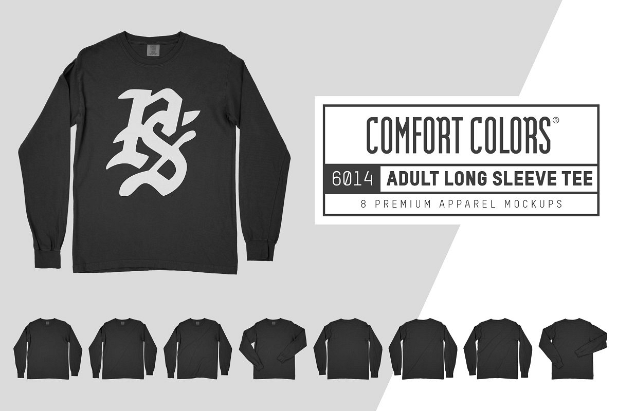 Comfort Colors 6014 Long Sleeve Tee example image 1