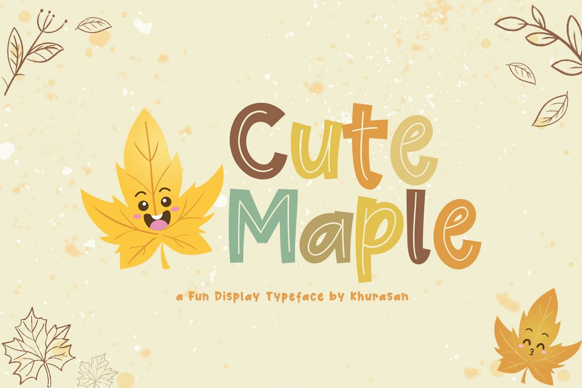 Cute Maple example image 1