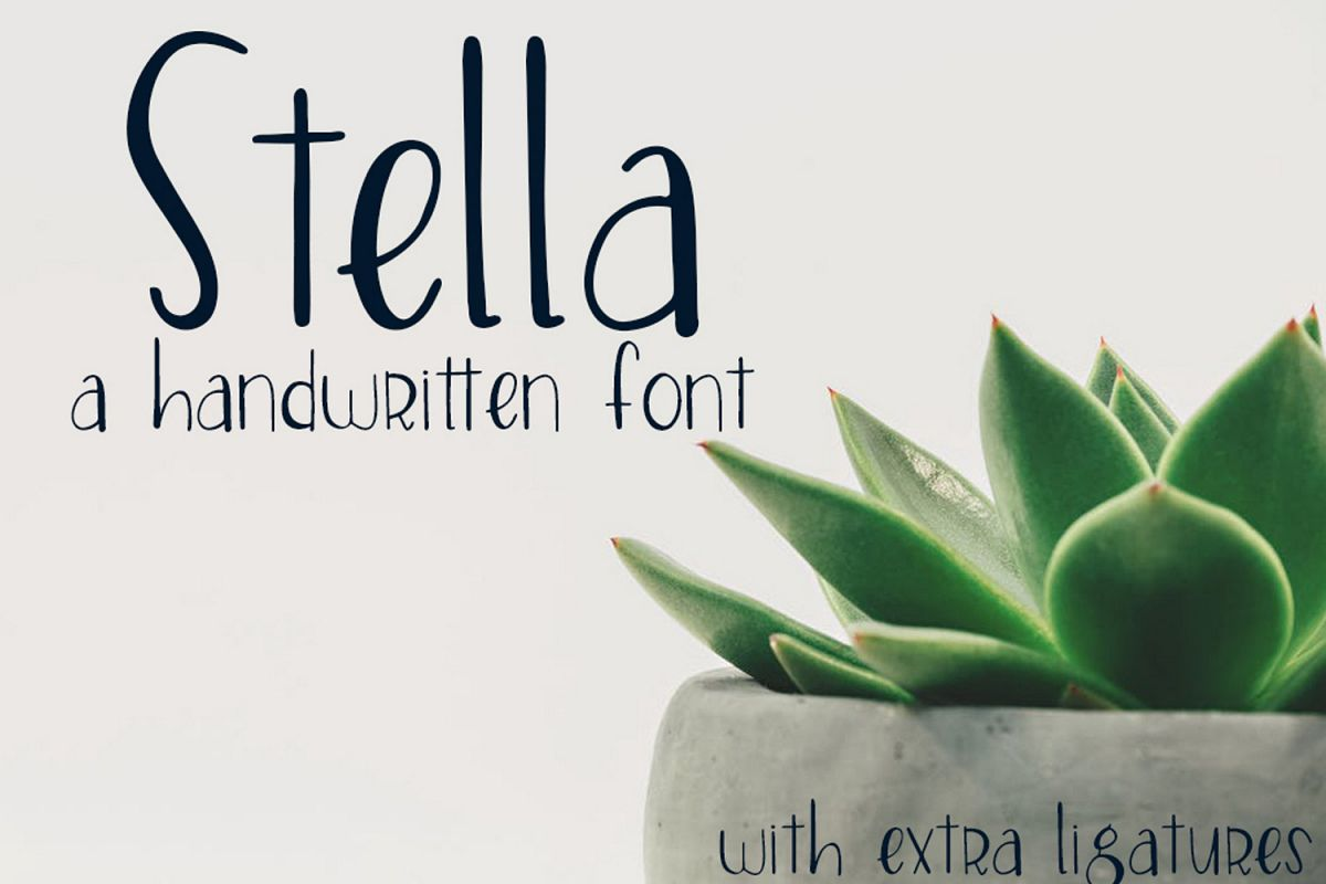 Stella Font example image 1