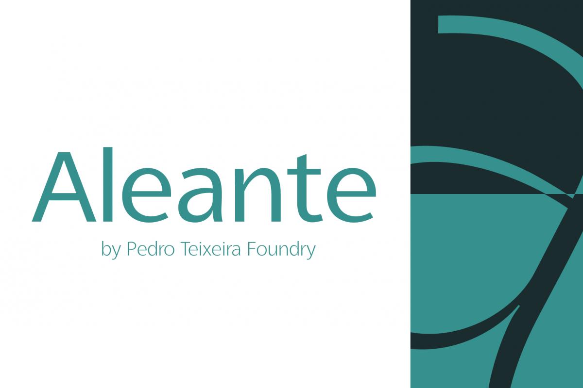 Aleante Sans Regular example image 1