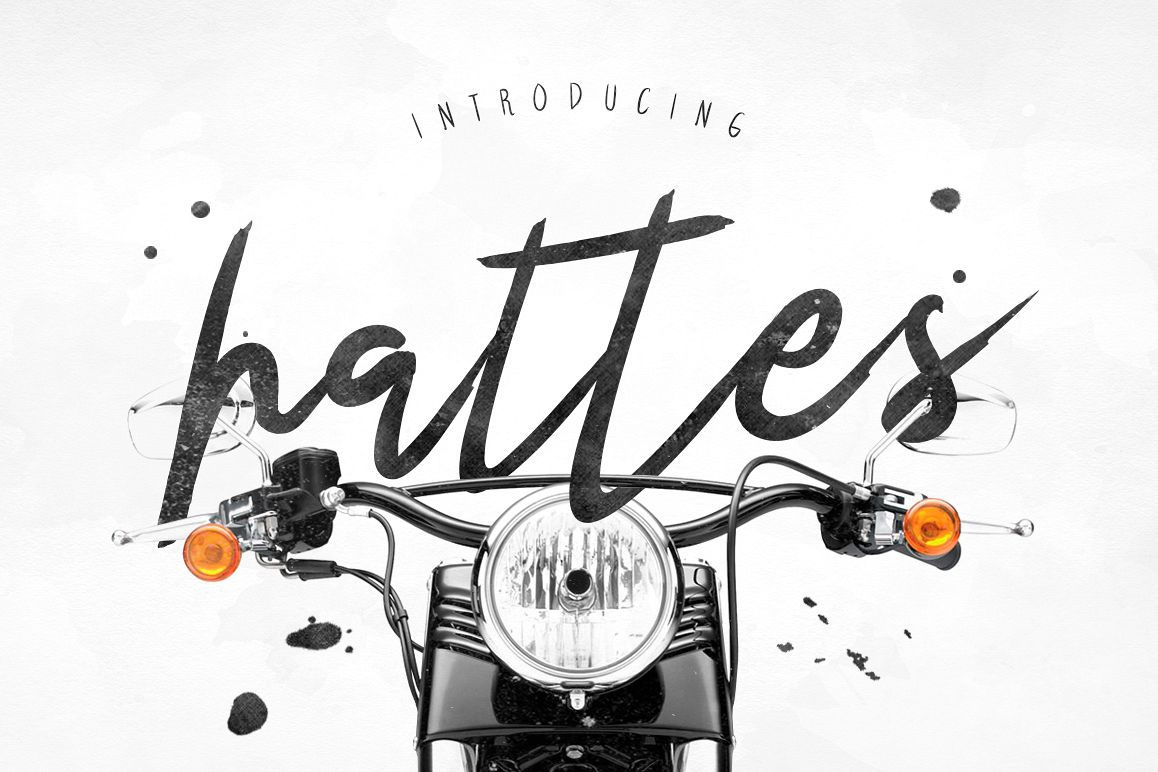 Hattes Typeface example image 1