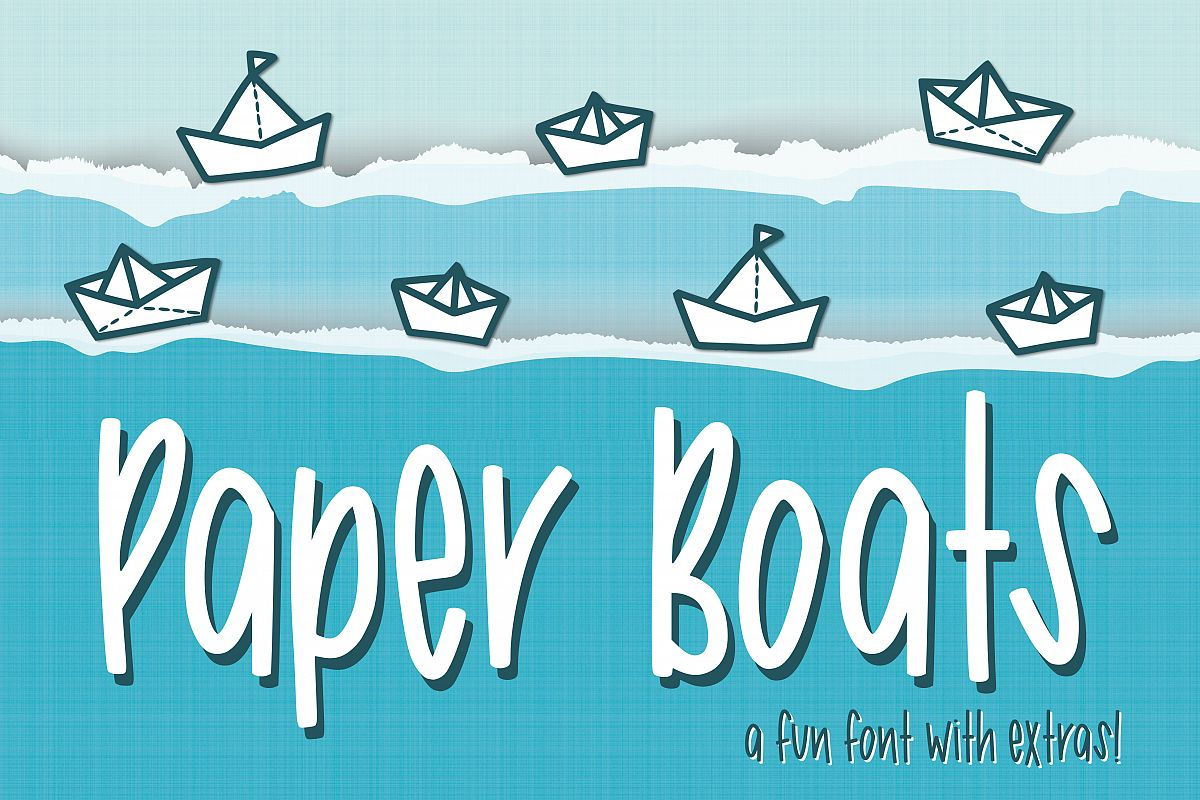 Paper Boats example image 1
