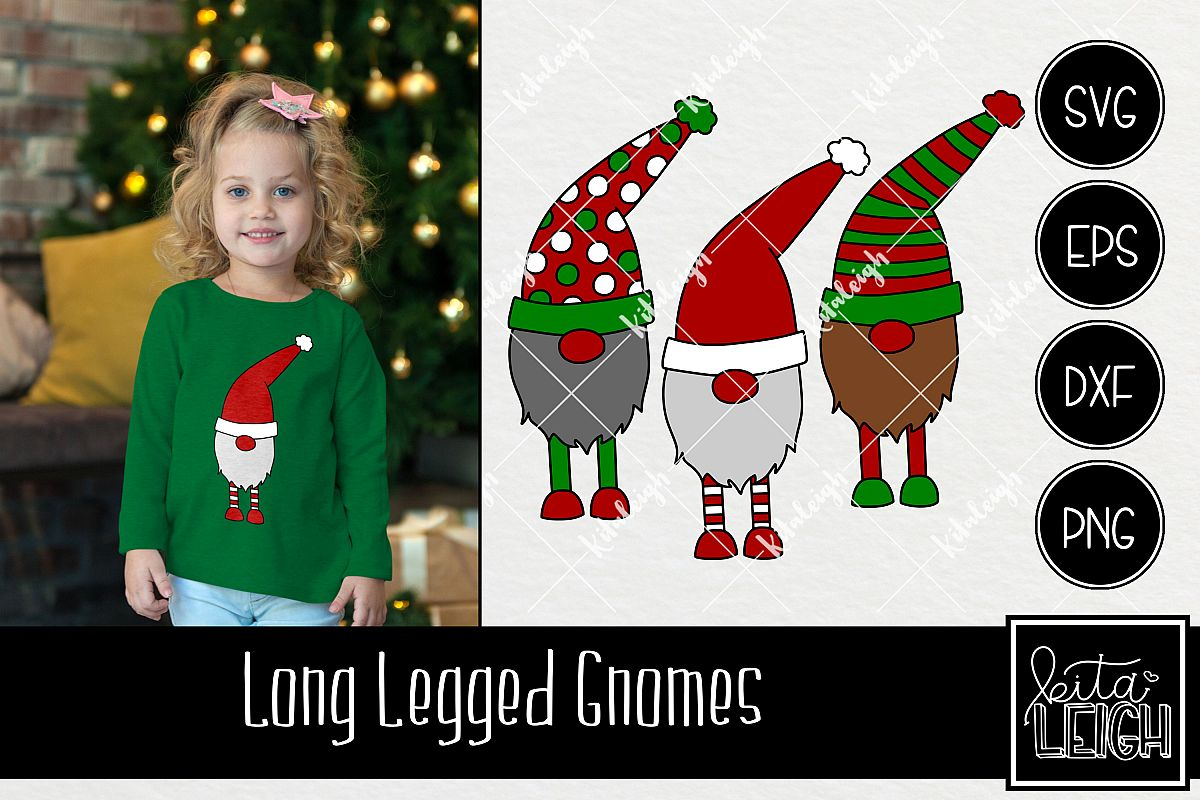 Christmas Long Legged Gnomes example image 1