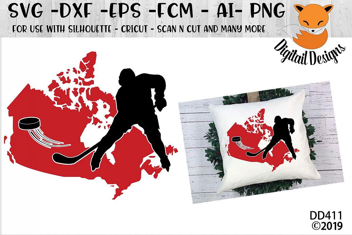Canadian Map Hockey example image 1