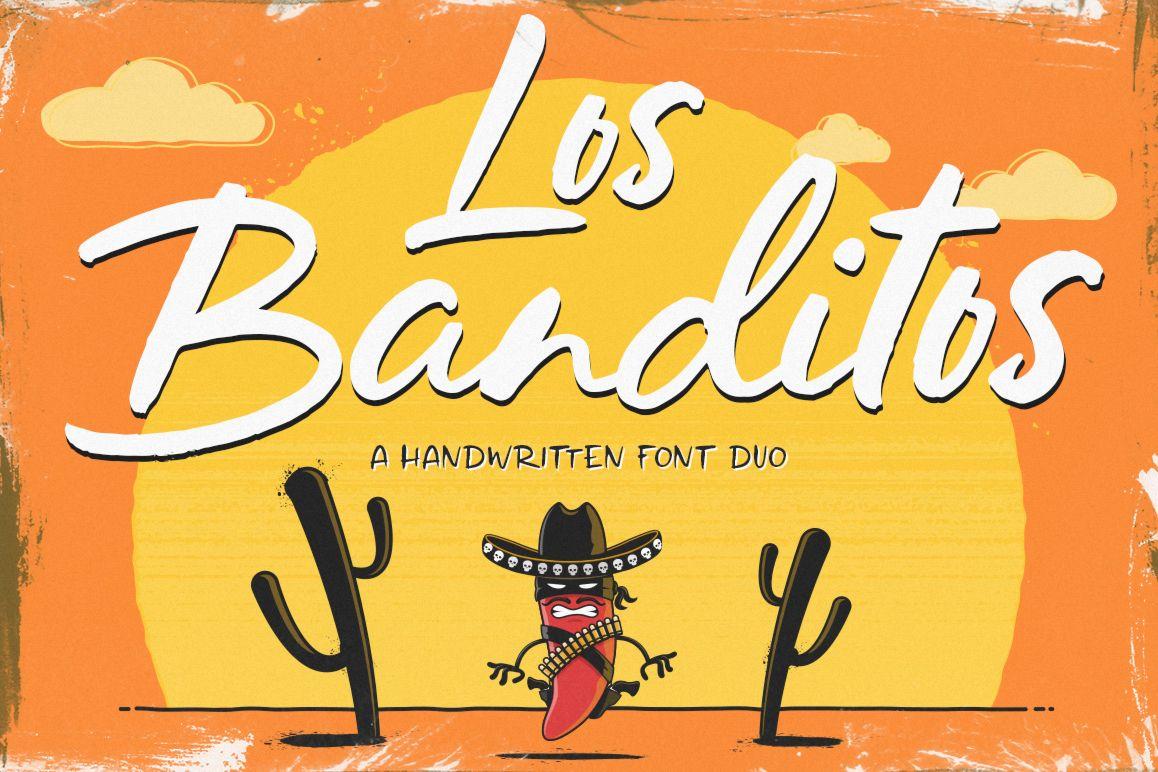 Los Banditos Font Duo example image 1