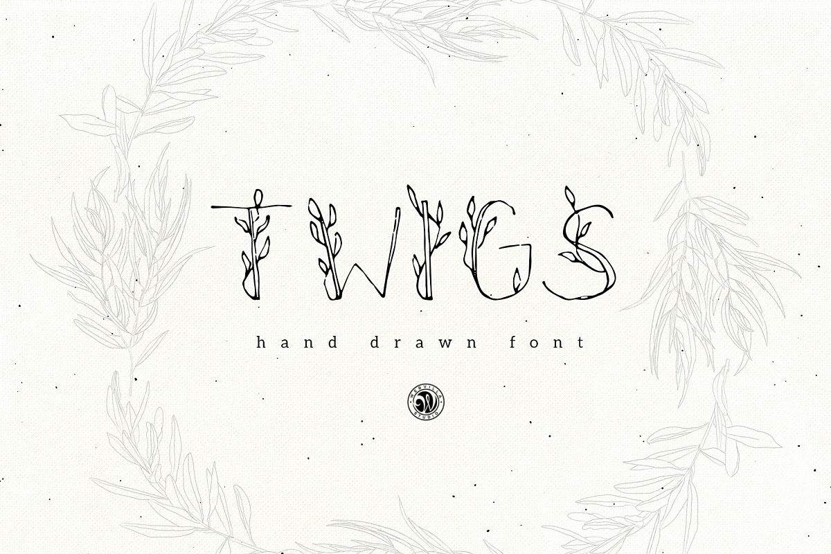Twigs Font example image 1