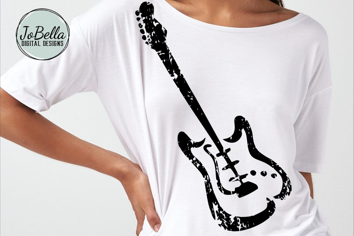 Fender Guitar SVG, Sublimation and Printable Design example image 1