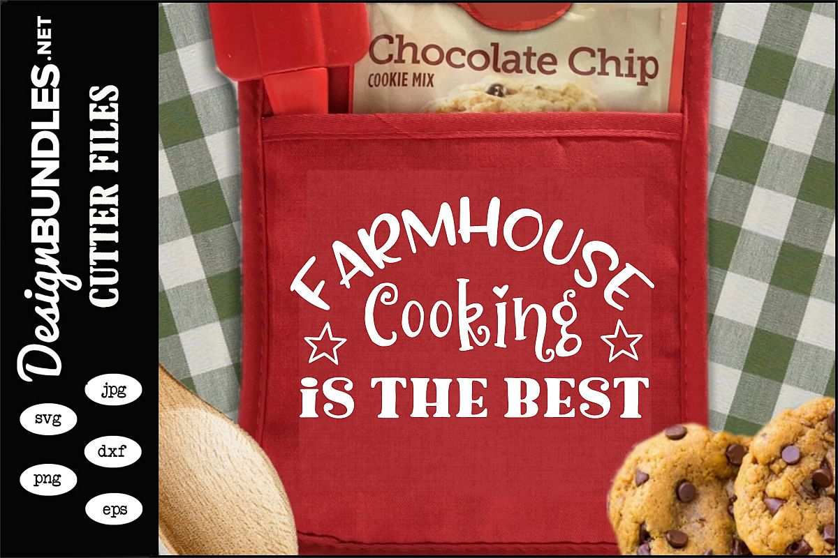 Farmhouse Cooking SVG example image 1