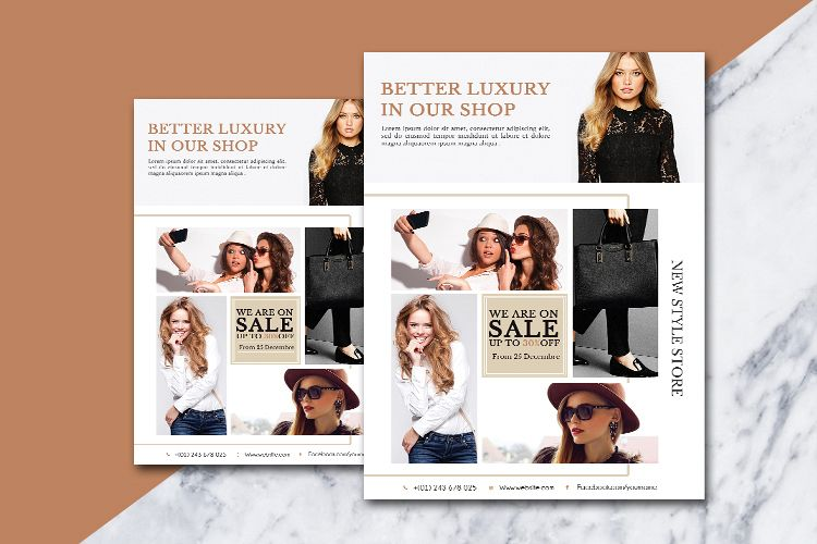 Fashion flyer example image 1