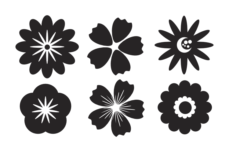Flower Image SVG DXF EPS PNG File example image 1