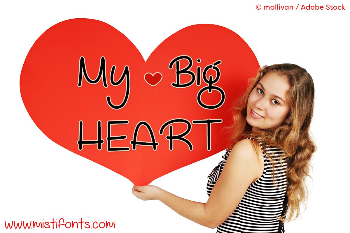 My Big Heart example image 1