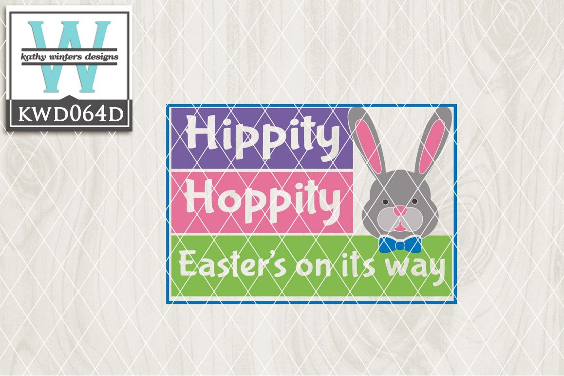 Easter Cutting File KWD064D example image 1