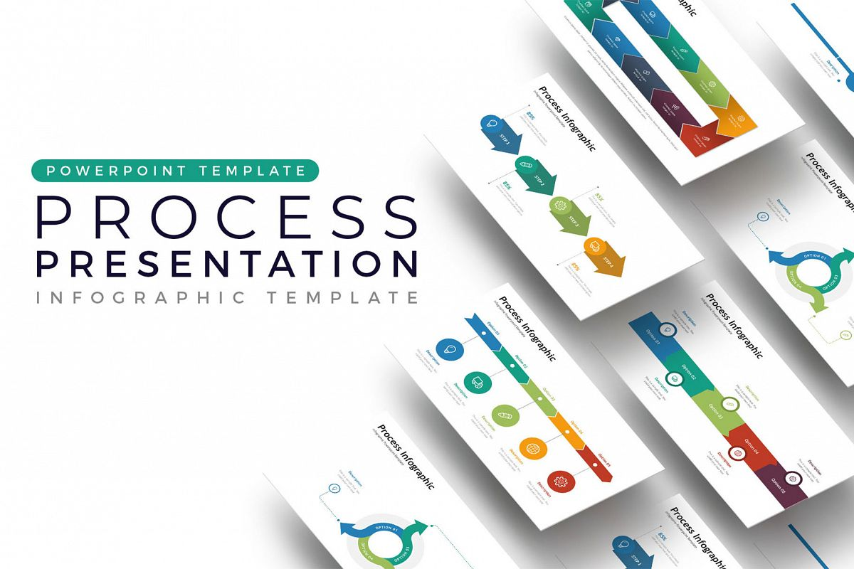 Process Presentation - Infographic Template example image 1