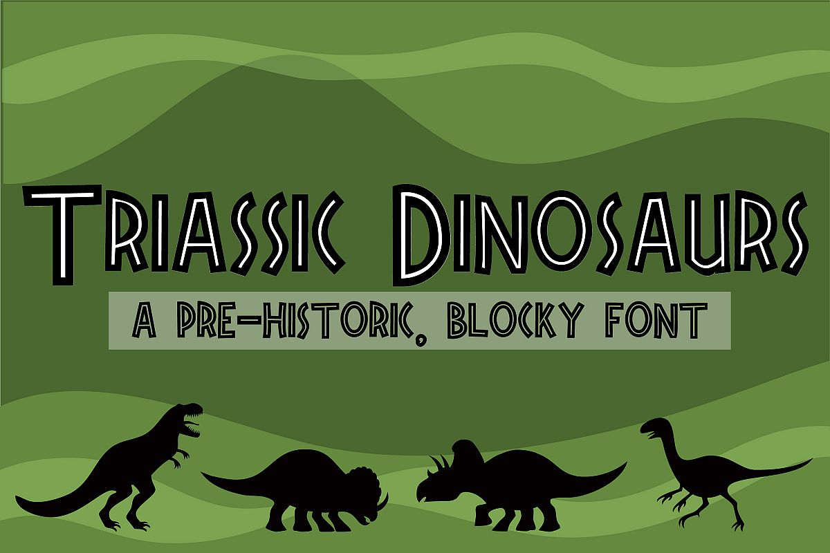 ZP Triassic Dinosaurs example image 1