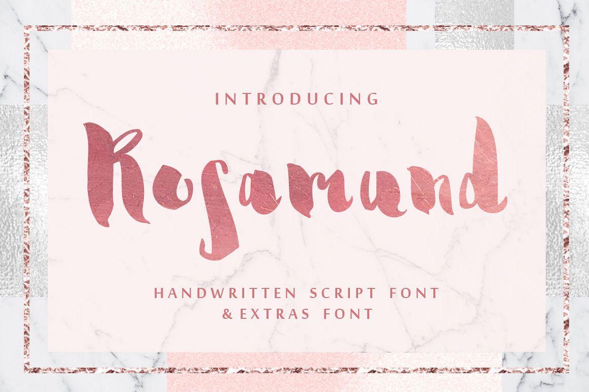 Rosamund script & Extras example image 1