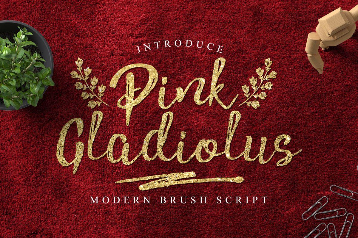 Pink Gladiolus example image 1