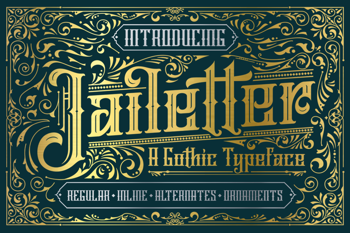 Jailetter Typeface example image 1