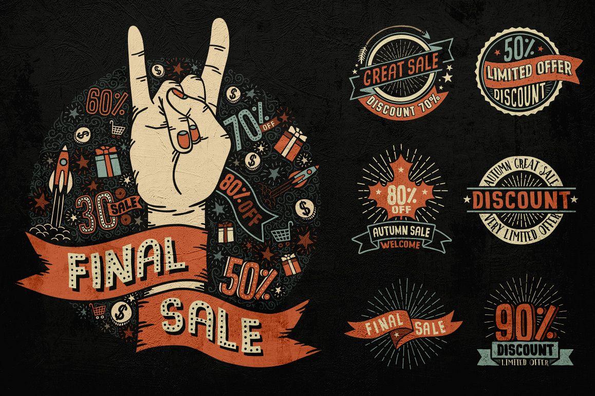 Sale Discount Set example image 1