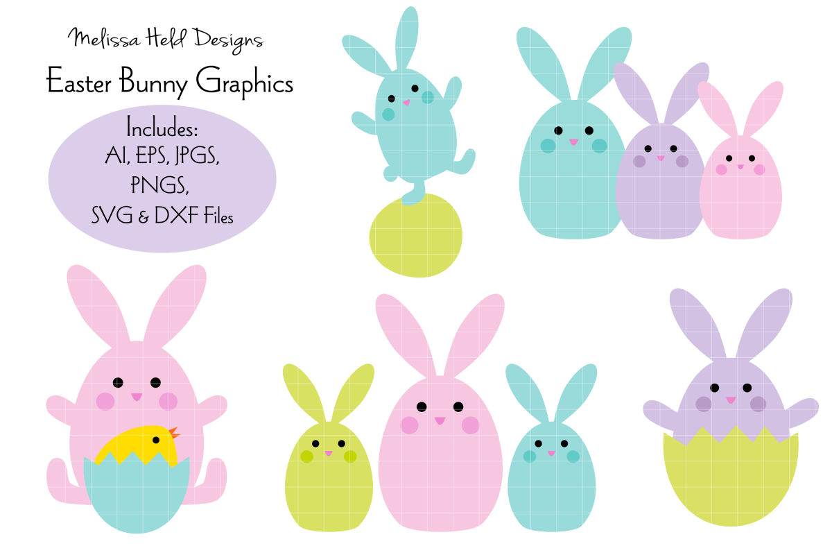 Easter Bunny Graphics example image 1