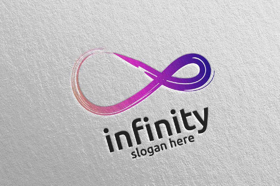 Infinity loop logo Design 31 example image 1