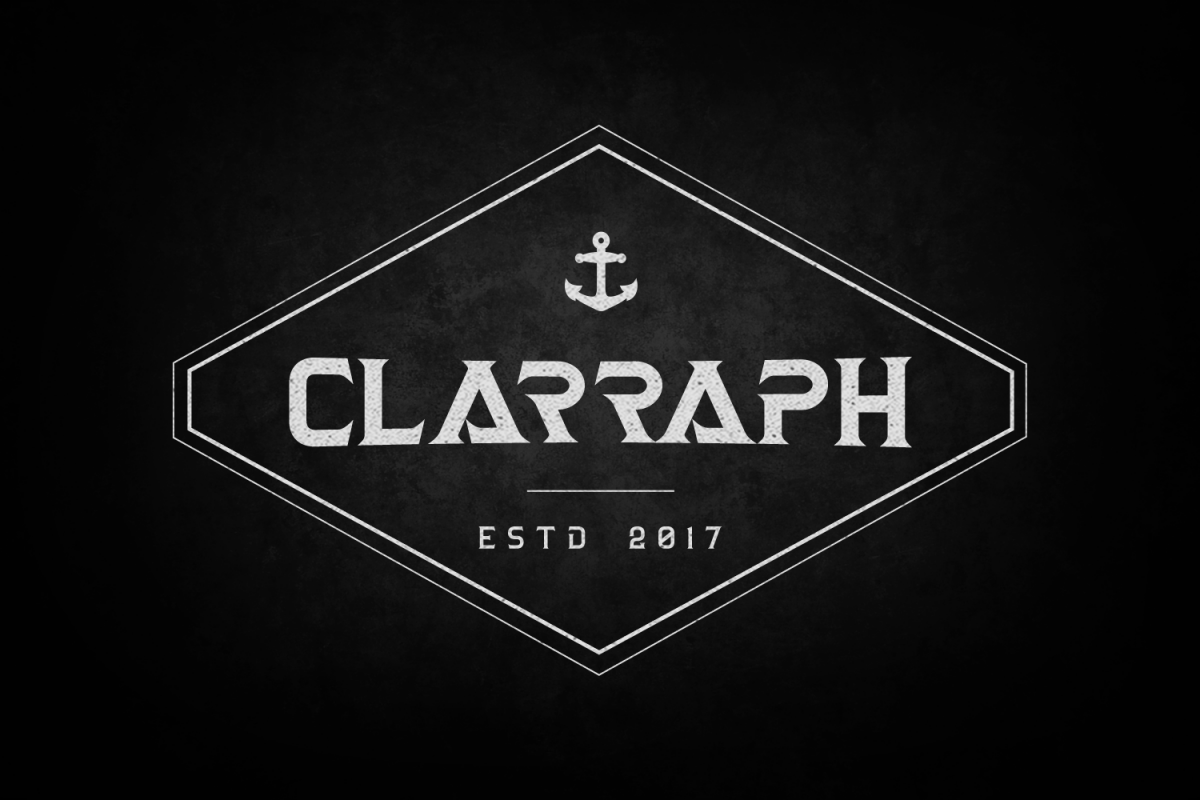 Clarraph Typeface example image 1