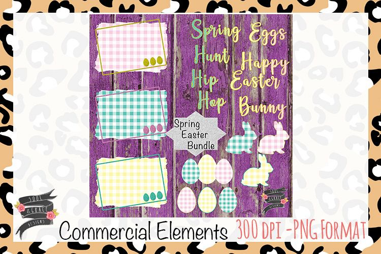 Spring Easter Commercial Elements example image 1