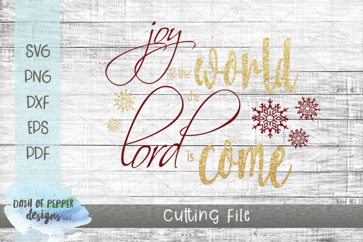 Joy to the World SVG - Christmas SVG example image 1