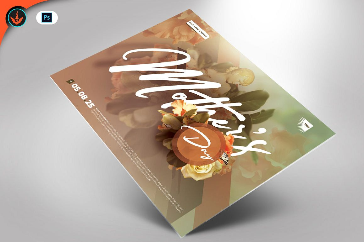 Mother's Day Flyer Template example image 1