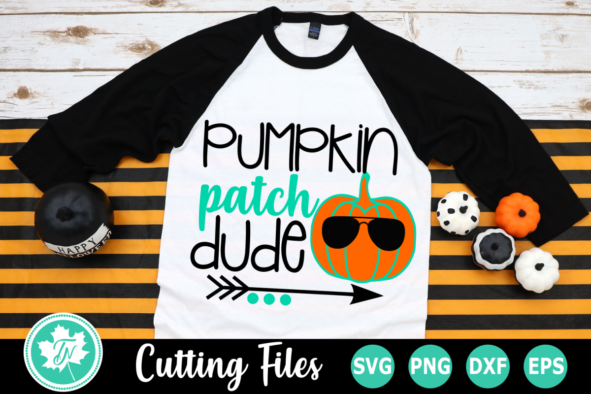 Pumpkin Patch Dude - A Fall SVG Cut File example image 1