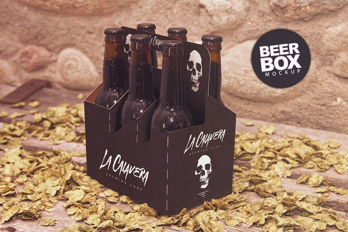 6 Pack Beer Mockup example image 1