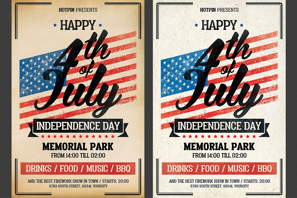 Independence Day Flyer example image 1
