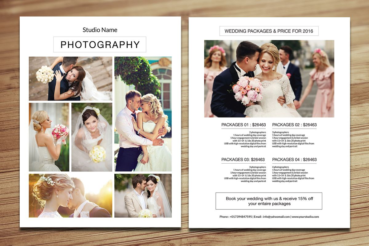 Photography Price List example image 1