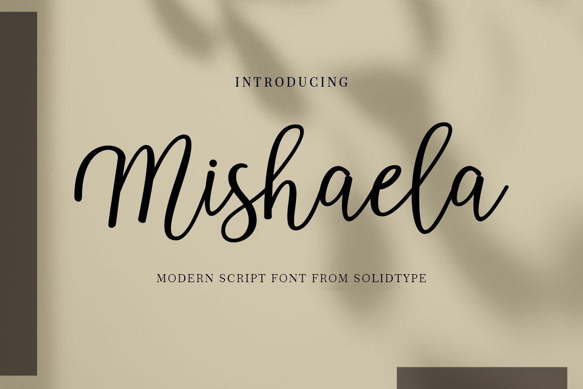 Mishaela Script example image 1