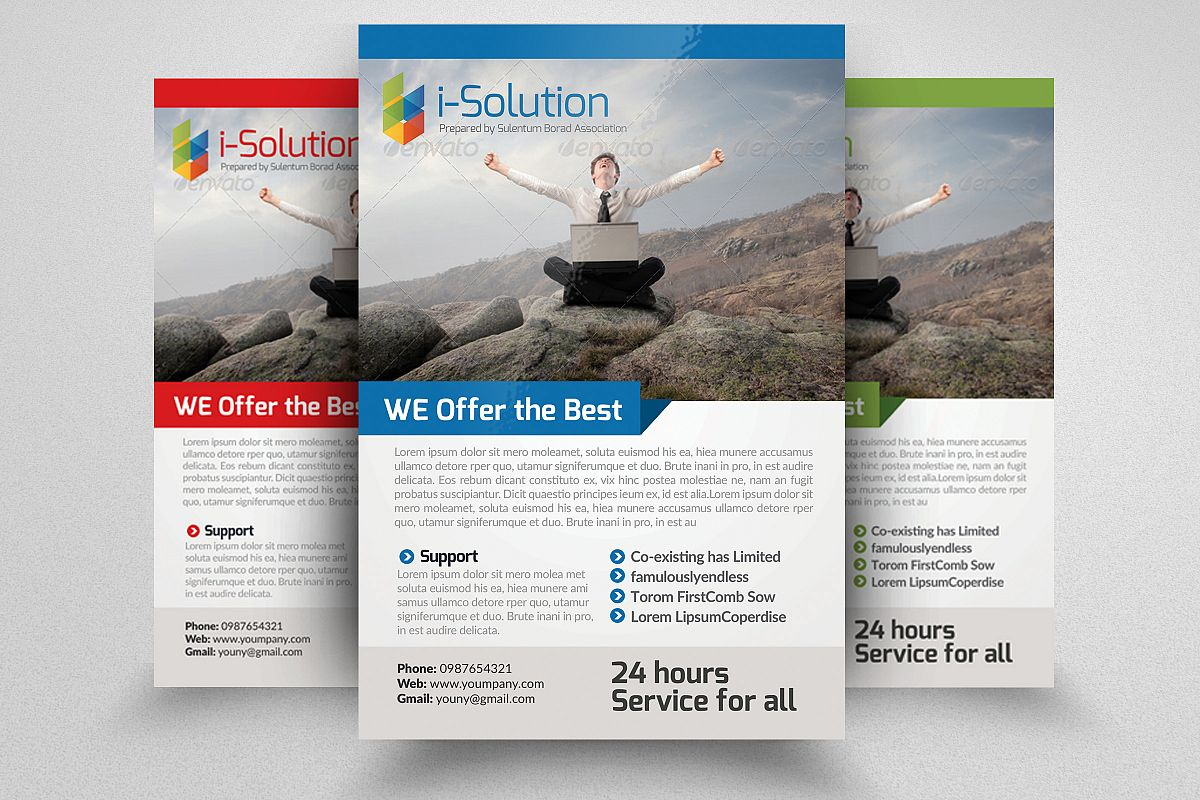 E Marketing Business Flyers example image 1