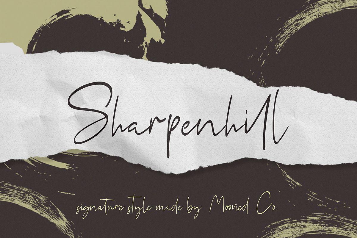 Sharpenhill Signature example image 1