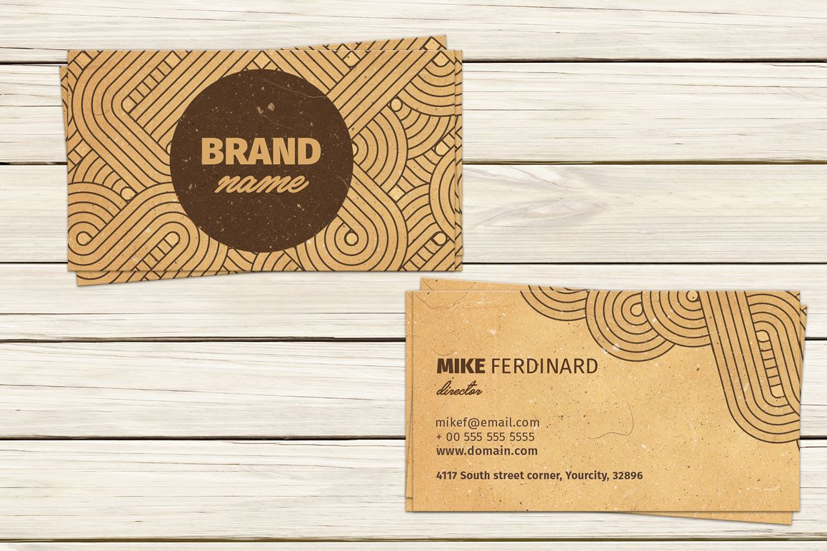 Retro Business Card example image 1