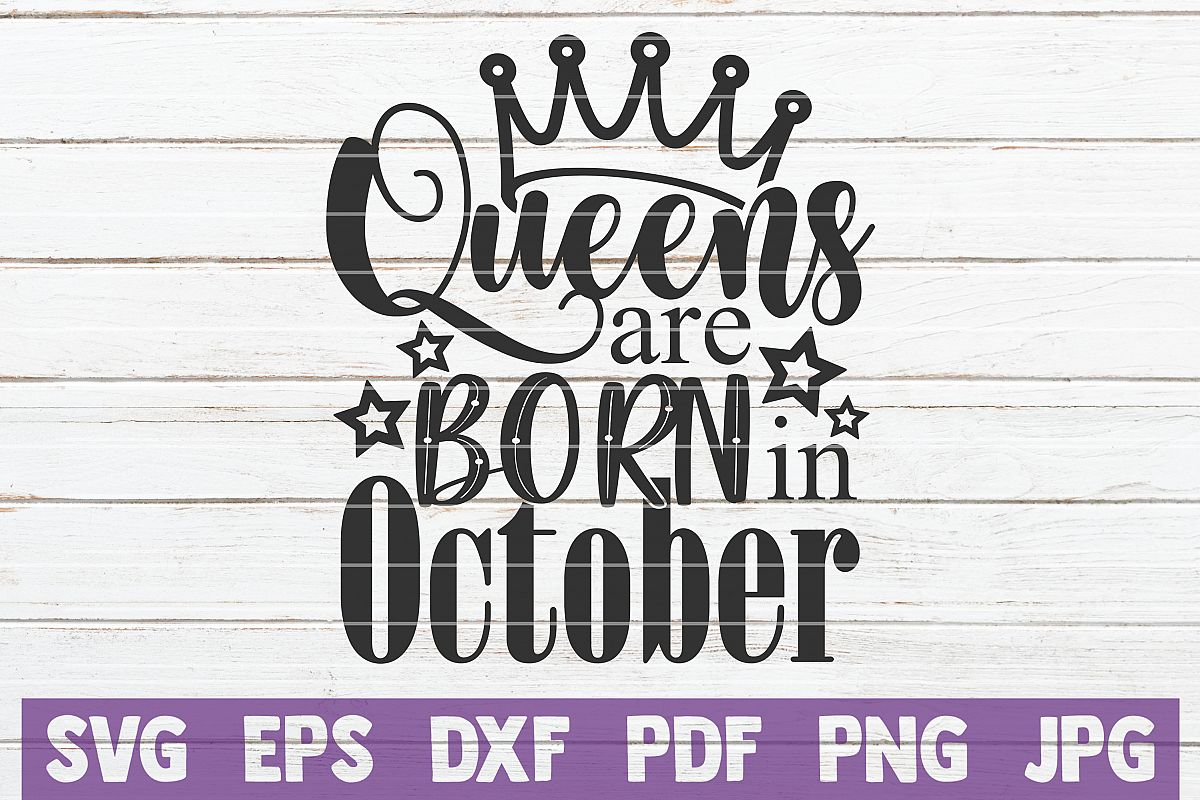 Queens Are Born In October example image 1