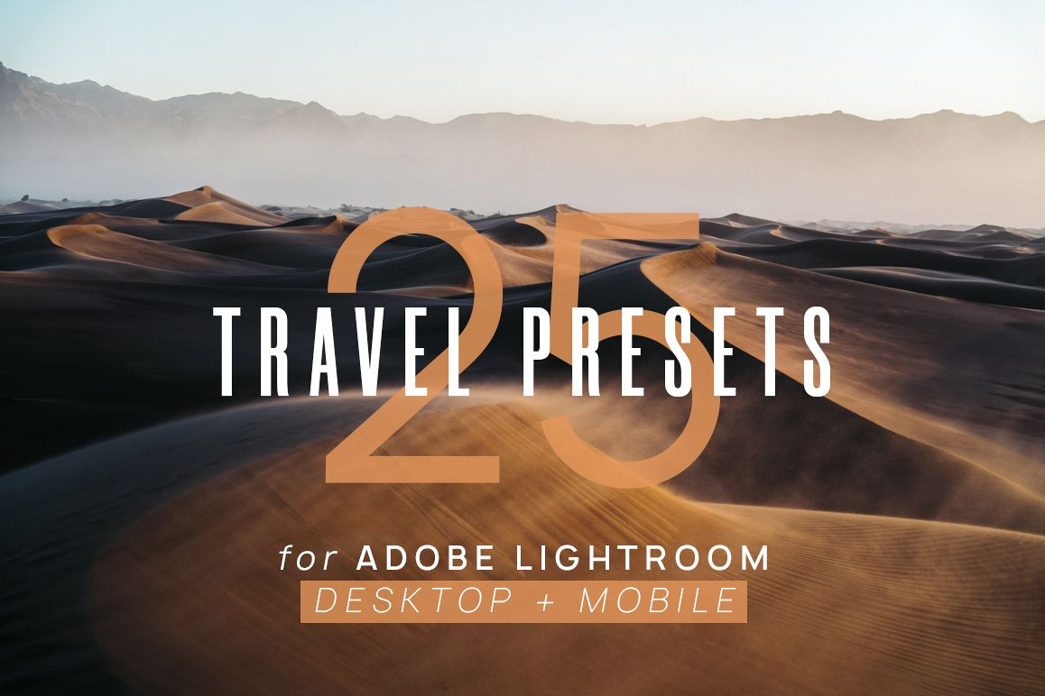 25 Travel Presets for Lightroom example image 1