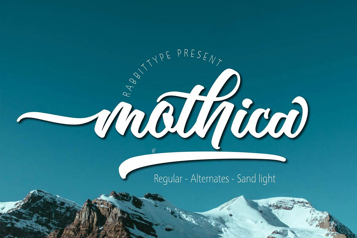 Mothica Script example image 1