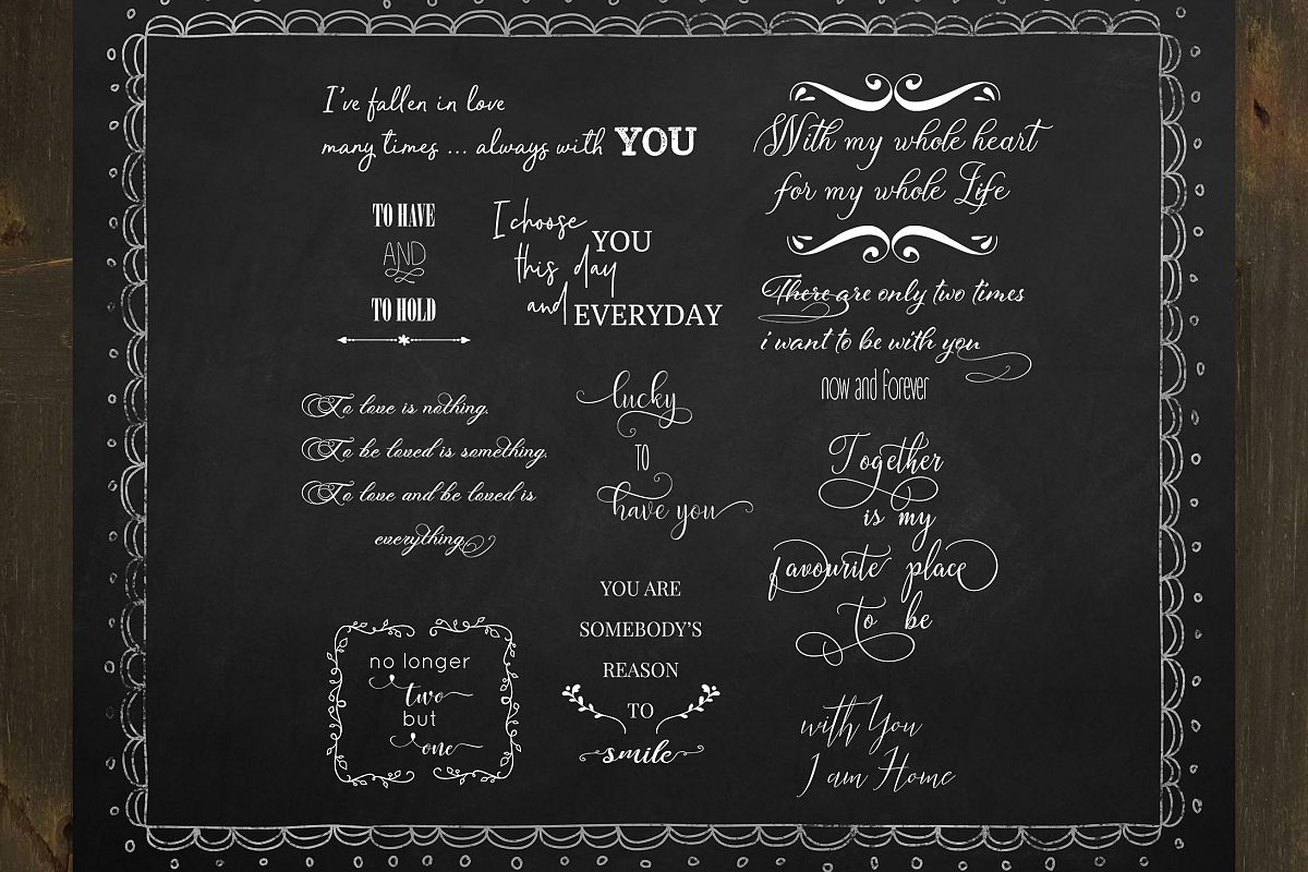 Love Quote Word Overlay example image 1