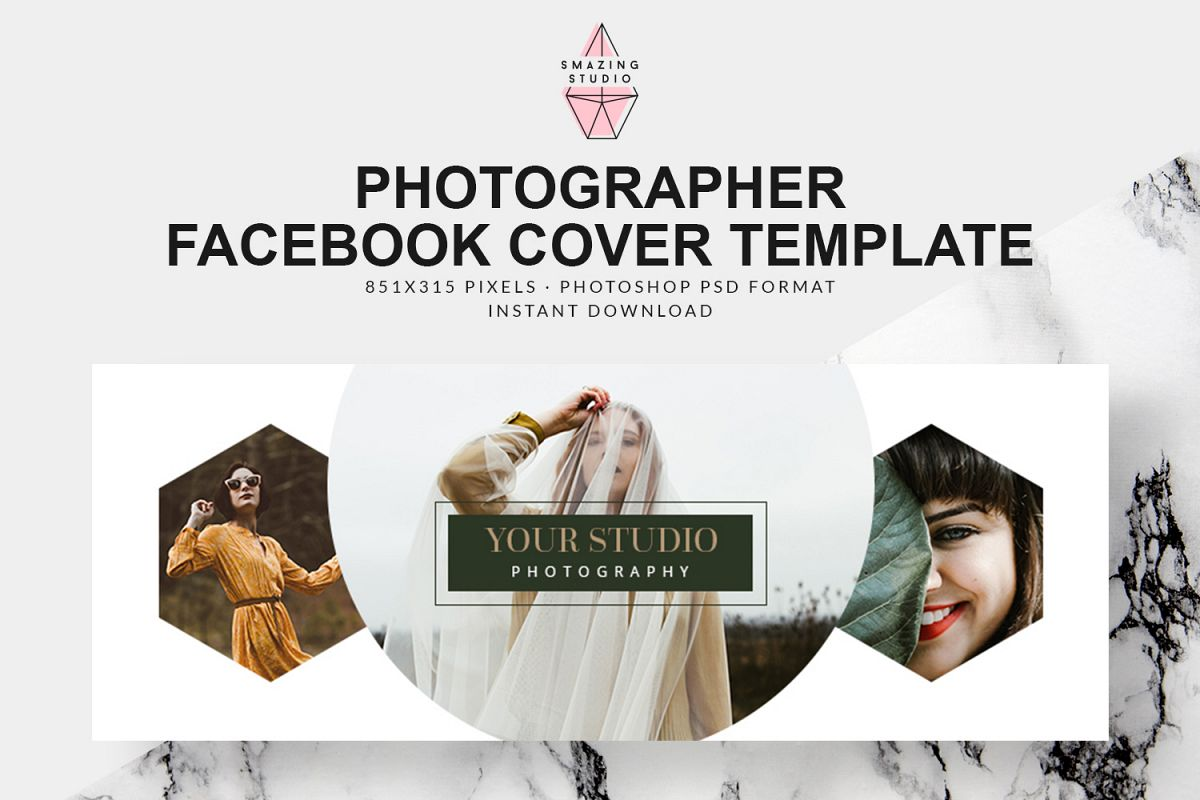Photographer Facebook Cover Template Fbc003 Example Image 1