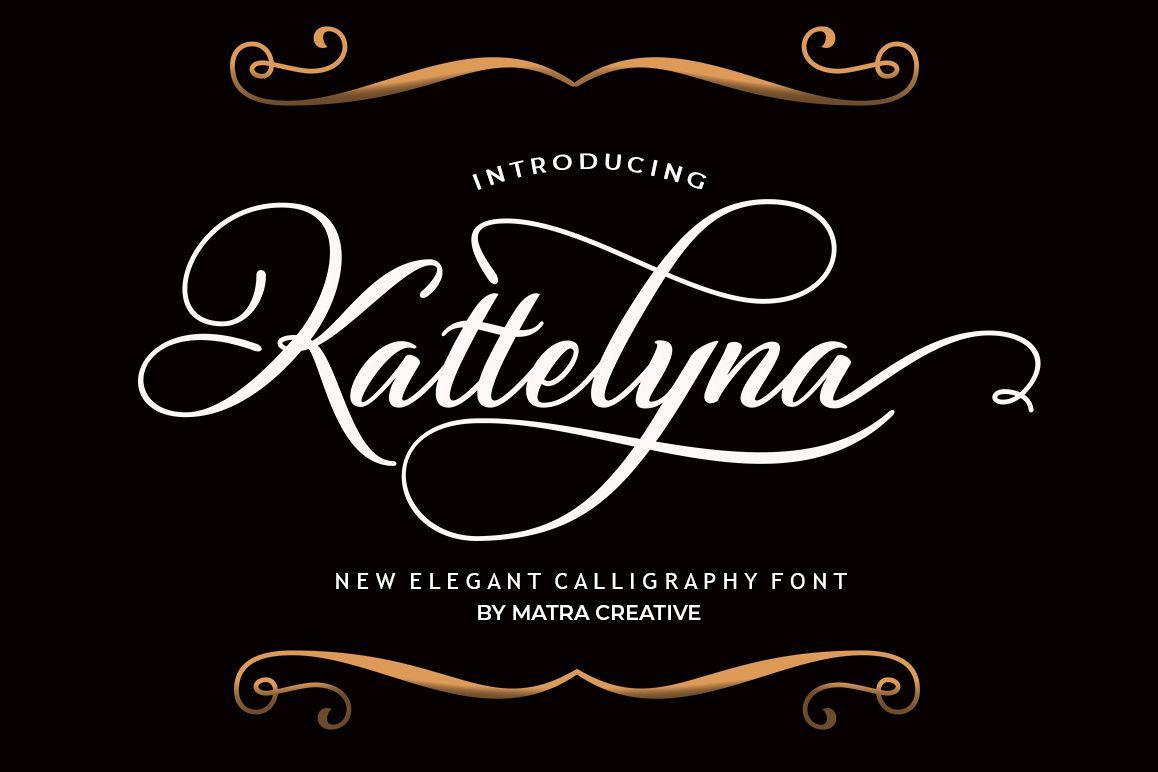 Kattelyna Script example image 1
